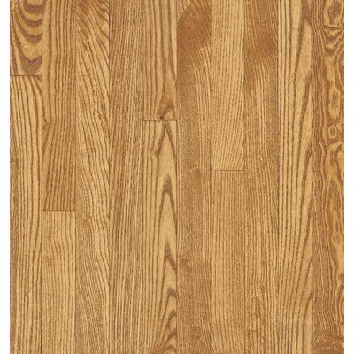 "Armstrong Yorkshire Plank 3-1/4"" Solid White Oak in Sahara"