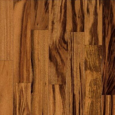 "Armstrong The Valenza Collection 3-1/2"" Engineered Tigerwood Flooring in Natural"