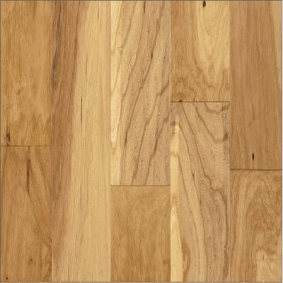 "Armstrong Century Farm Hand-Sculpted 5"" Engineered Hickory Flooring in Natural"
