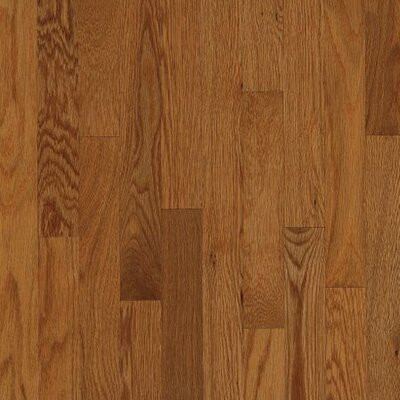 "Armstrong Kingsford Strip 2-1/4"" Solid White Oak Flooring in Auburn"