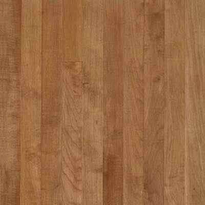 "Armstrong Sugar Creek Plank 3-1/4"" Solid Maple Flooring in Toasted Almond"