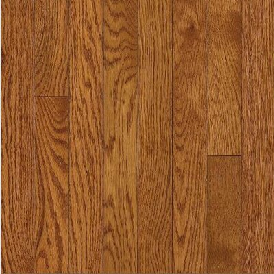Armstrong SAMPLE - Somerset Strip Solid Oak in Large Spice Brown