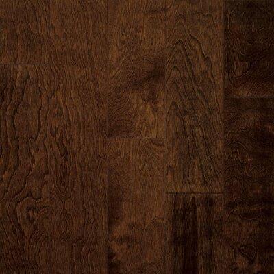 "Armstrong Artesian Classics Color Wash 5"" Engineered Yellow Birch Flooring in Cinnabark"