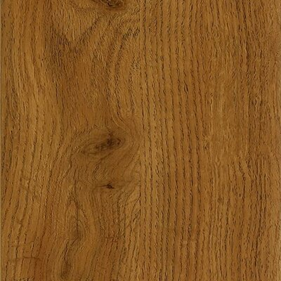"Armstrong Luxe Jefferson Oak 6"" x 36"" Vinyl Plank in Gunstock"