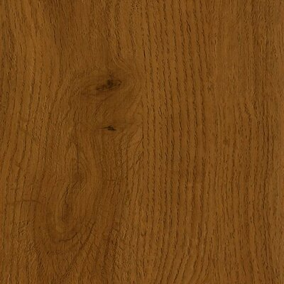 "Armstrong Luxe Jefferson Oak 6"" x 36"" Vinyl Plank in Saddle"
