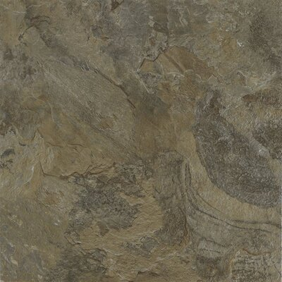 Armstrong Alterna Mesa Stone 16&quot; x 16&quot; Vinyl Tile in Moss