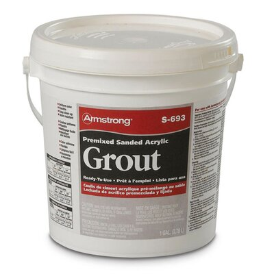 Premixed Sanded Acrylic Grout in Gypsum - 1 Gallon