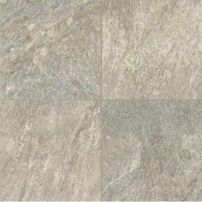 "Armstrong Alterna Reserve Cuarzo 16"" x 16"" Vinyl Tile in Pearl Gray"