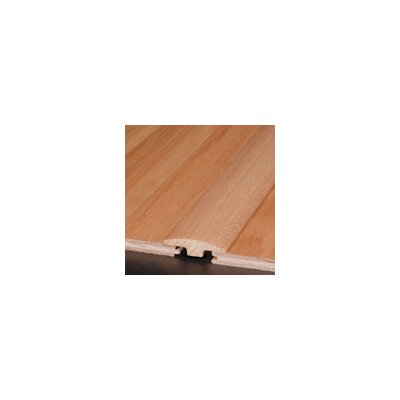 "Armstrong 0.25"" x 2"" White Oak T-Molding in Merlot Large"