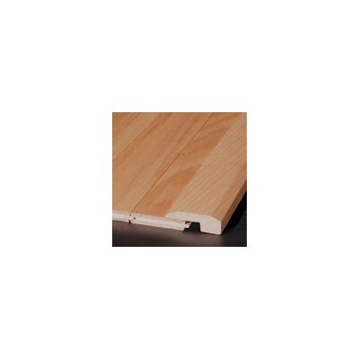 "Armstrong 0.63"" x 2"" Red Oak Threshold in Large Crimson"