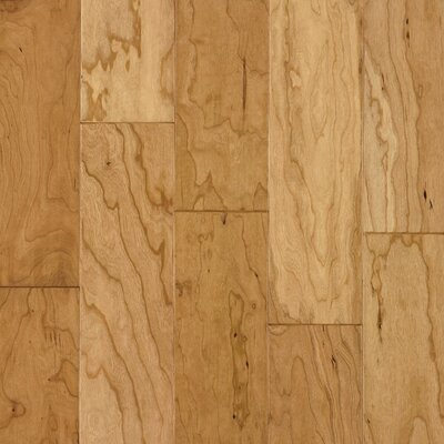 "Armstrong Century Farm Hand-Sculpted 5"" Engineered Cherry Flooring in Natural"