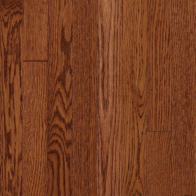 "Armstrong Somerset Strip 2-1/4"" Solid Oak Flooring in Large Cabernet"