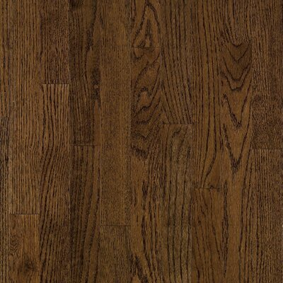 "Armstrong Somerset Strip 2-1/4"" Solid Red Oak Flooring in Large Haystack"