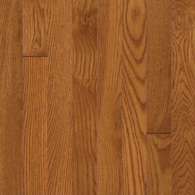 "Armstrong Somerset Plank 3-1/4"" Solid Oak Flooring in Large Copper"