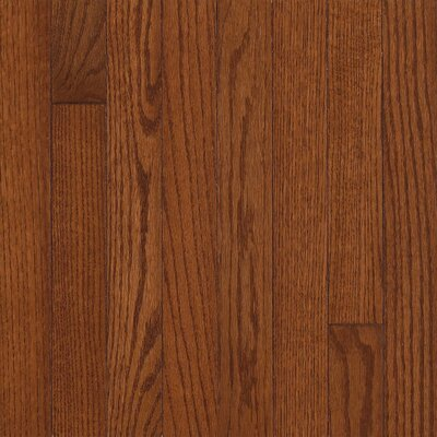"Armstrong Somerset Strip 2-1/4"" Solid Oak Flooring in Large Benedictine"