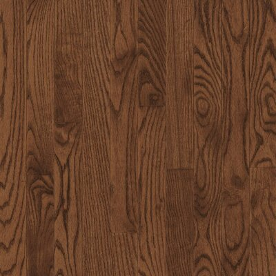 "Armstrong Yorkshire Plank 3-1/4"" Solid White Oak Flooring in Umber"