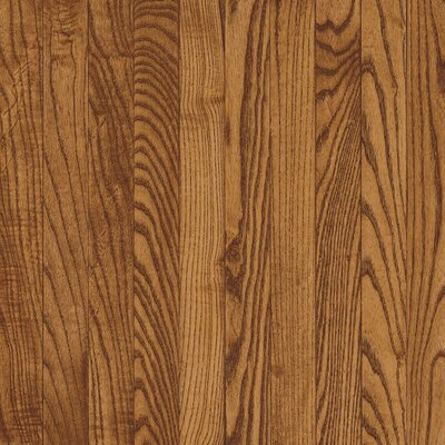 "Armstrong Yorkshire Plank 3-1/4"" Solid White Oak Flooring in Auburn"