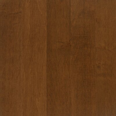 "Armstrong Performance Plus 5"" Acrylic-Infused Engineered Maple Flooring in Traditional Russet"
