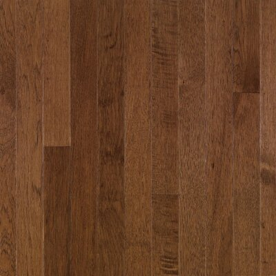 "Bruce Flooring American Treasures Plank 3-1/4"" Solid Hickory Flooring in Plymouth Brown"