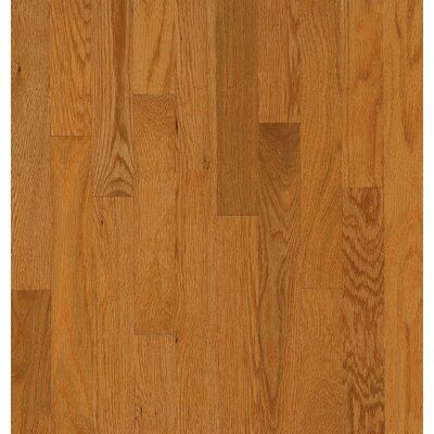 Bruce Flooring SAMPLE - Natural Choice™ Strip Low Gloss Solid White Oak in Butter Rum / Toffee