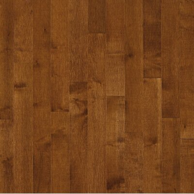 Bruce Flooring SAMPLE - Kennedale® Strip Solid Dark Maple in Sumatra