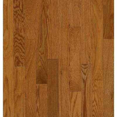 Bruce Flooring SAMPLE - Manchester Plank Solid Red Oak in Gunstock