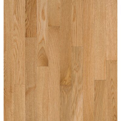 Bruce Flooring SAMPLE - Natural Choice™ Strip Low Gloss Solid Red Oak in Natural