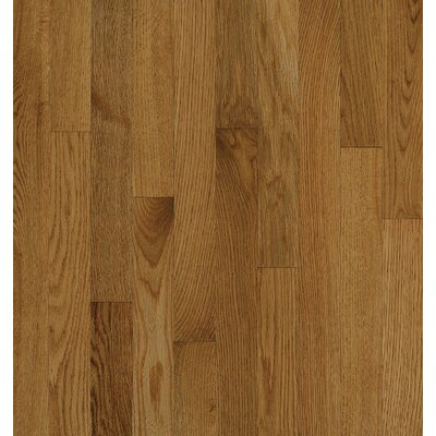 Bruce Flooring SAMPLE - Natural Choice™ Strip Low Gloss Solid White Oak in Spice