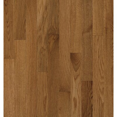 Bruce Flooring SAMPLE - Natural Choice™ Strip Low Gloss Solid Red / White Oak in Mellow
