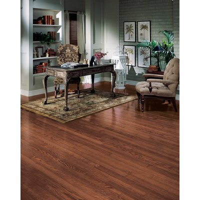 Bruce Flooring SAMPLE - Northshore® Plank Engineered Red Oak in Vintage Brown