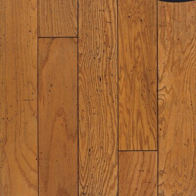 "Bruce Flooring Rockwell Plank 7"" Engineered Red Oak Flooring in Honey"