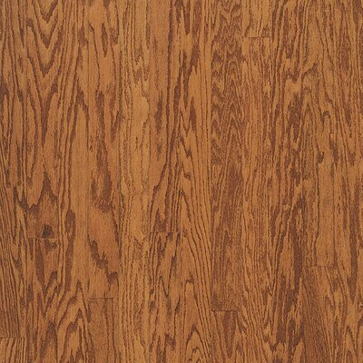 "Bruce Flooring Turlington Plank 5"" Engineered Red Oak Flooring in Gunstock"