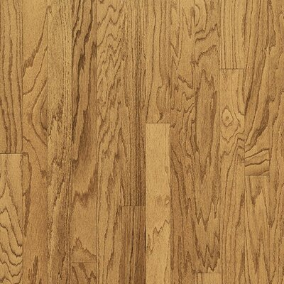 "Bruce Flooring Turlington Plank 5"" Engineered Red Oak Flooring in Harvest"
