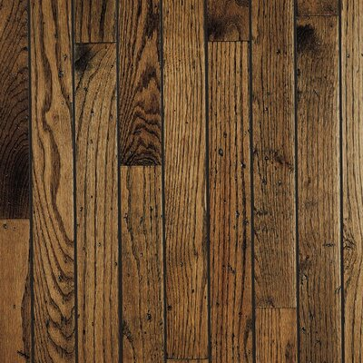 "Bruce Flooring Trumbull Strip 2-1/4"" Solid Red/White Oak Flooring in Antique"