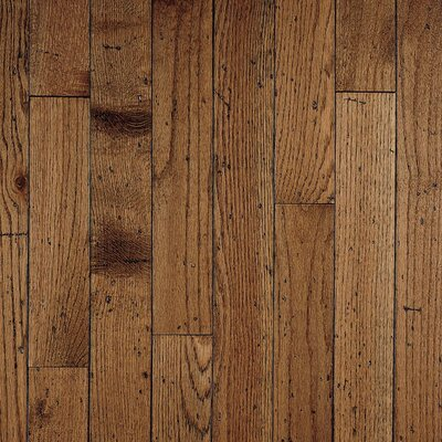 "Bruce Flooring Ellington Plank 3-1/4"" Solid Red / White Oak Flooring in Antique"