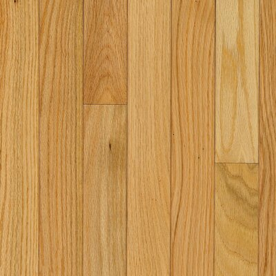 "Bruce Flooring Manchester Strip 2-1/4"" Solid Red Oak Flooring in Natural"