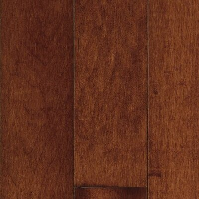 "Bruce Flooring Natural Choice Strip 2-1/4"" Solid Light / Dark Maple Flooring in Cherry"
