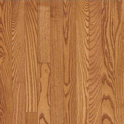 "Bruce Flooring Dundee Wide Plank 4"" Solid Red Oak Flooring in Butterscotch"