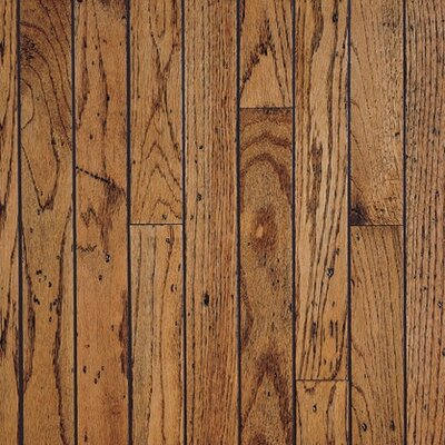 Bruce Flooring SAMPLE - Trumbull™ Strip Solid Red/White Oak in Honey