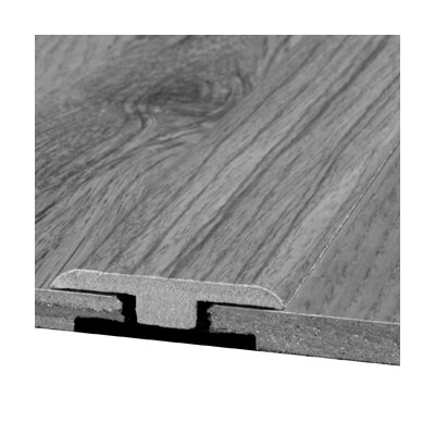 Bruce Flooring Laminate T-Moulding Bevel Trim with Track in Caribbean Cherry Royale, Country Cherry