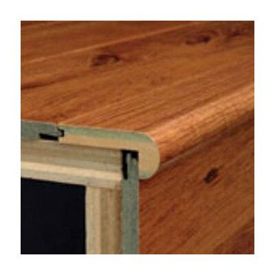 Bruce Flooring Laminate Flush Stair Nose Micro-Bevel Trim in Lincoln Cherry Natural, Antique Hickory, Cherry