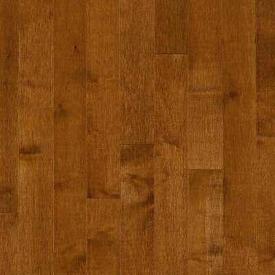 "Bruce Flooring Kennedale Prestige Wide Plank 5"" Solid Maple Flooring in Sumatra"