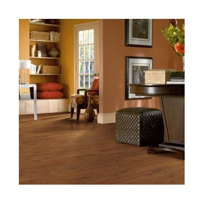 Bruce Flooring American Home Elite Plank 8mm Mahogany Laminate in Natural