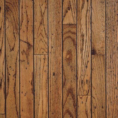 "Bruce Flooring Trumbull Strip 2-1/4"" Solid Red/White Oak Flooring in Honey"