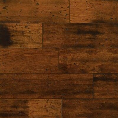 "Bruce Flooring American Vintage Lock and Fold 5"" Engineered Cherry Flooring in Copper Kettle"