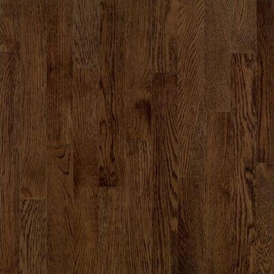"Bruce Flooring Dundee Wide Plank 5"" Solid Red Oak Flooring in Mocha"