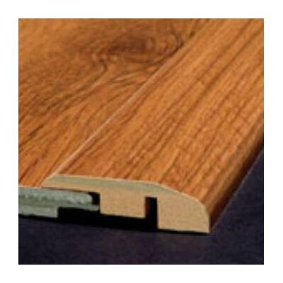 Bruce Flooring Laminate Reducer Strip with Track in Fruitwood Select