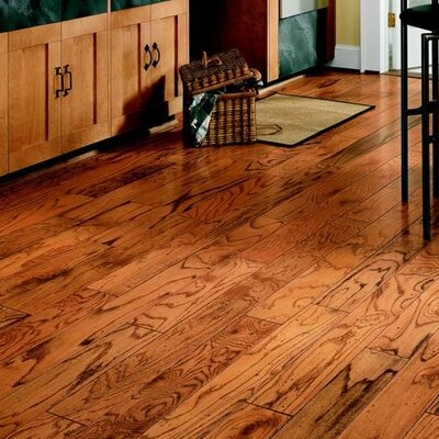 "Bruce Flooring Baltic Plank 5"" Engineered Red Oak Flooring in Honey"