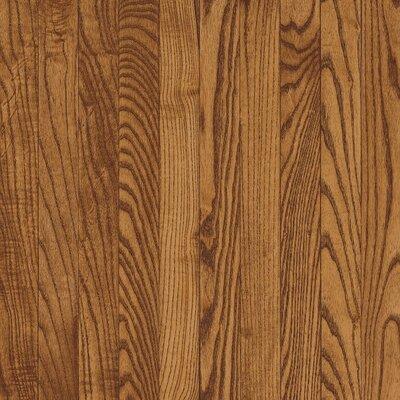 "Bruce Flooring Bristol 3-1/4"" Solid Red / White Oak Flooring in Gunstock"