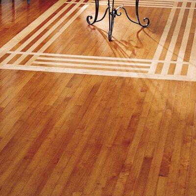 """Bruce Flooring Kennedale Strip 2-1/4"""" Solid Maple Flooring in Cinnamon"""